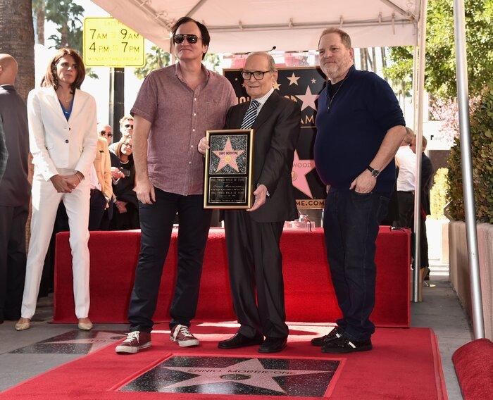 Фото дня: Эннио Морриконе получил звезду на Аллее славы Голливуда