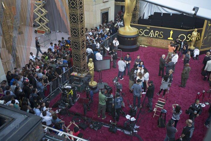 Фото дня: 28 февраля пройдёт церемония «Оскар»-2016
