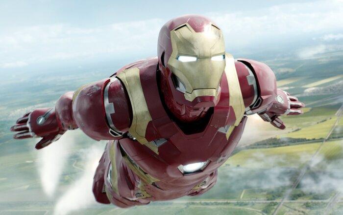 Битва между супергероями в свежем видео блокбастера «Первый мститель: Противостояние»