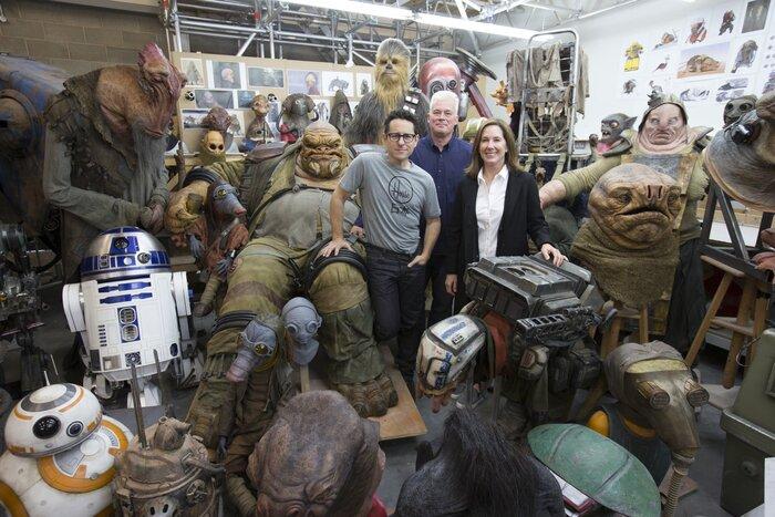 Фильм о новых «Звёздных войнах»: подробности из первых рук