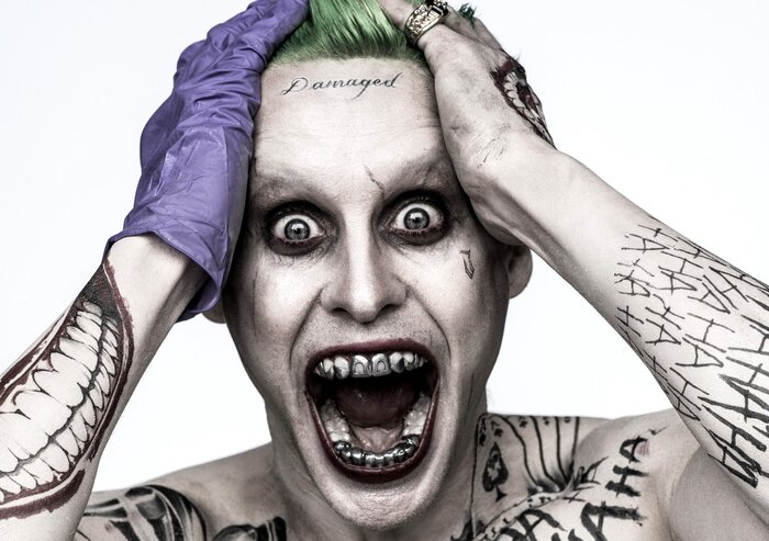 Сумасшедший Джокер в свежем видео фильма «Отряд самоубийц»