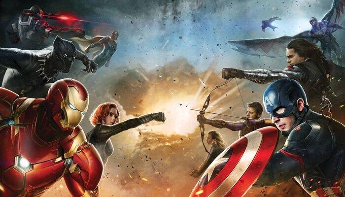Супергерои атакуют в первом фрагменте фантастического боевика «Первый мститель: Противостояние»