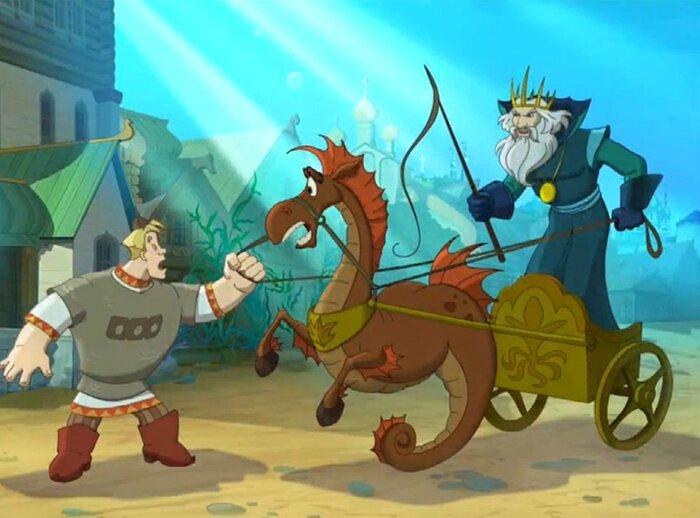 Вышел первый тизер мультфильма «Три богатыря и Морской царь»
