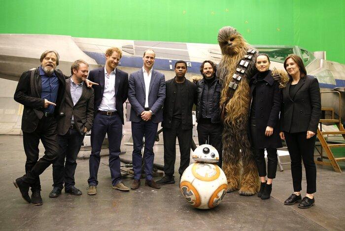 Принц Уильям и принц Гарри тайно снялись в новых «Звёздных войнах»