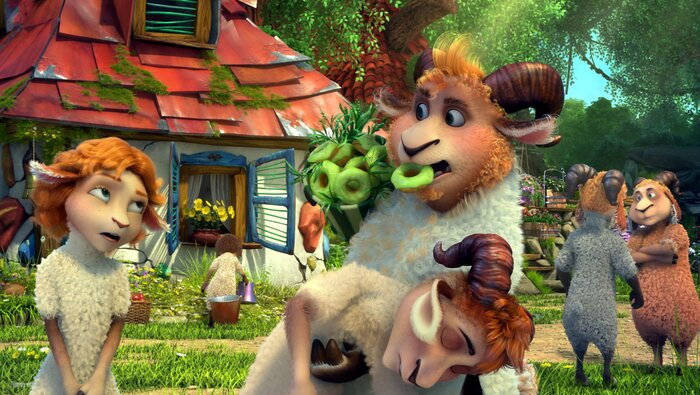 Российский мультфильм «Волки и овцы: бе-е-е-зумное превращение» покажут на престижном фестивале во Франции