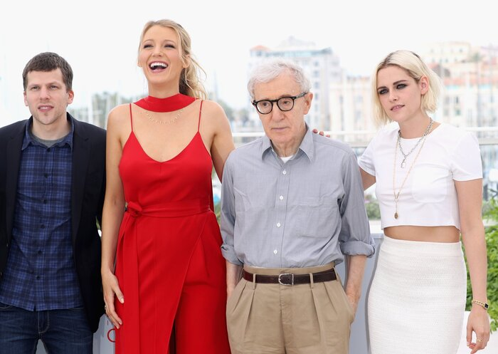 Фото дня: Аллен, Стюарт и Айзенберг открыли 69-й Каннский кинофестиваль
