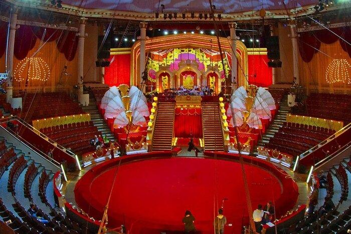 В российских цирках запускаются регулярные кинопоказы