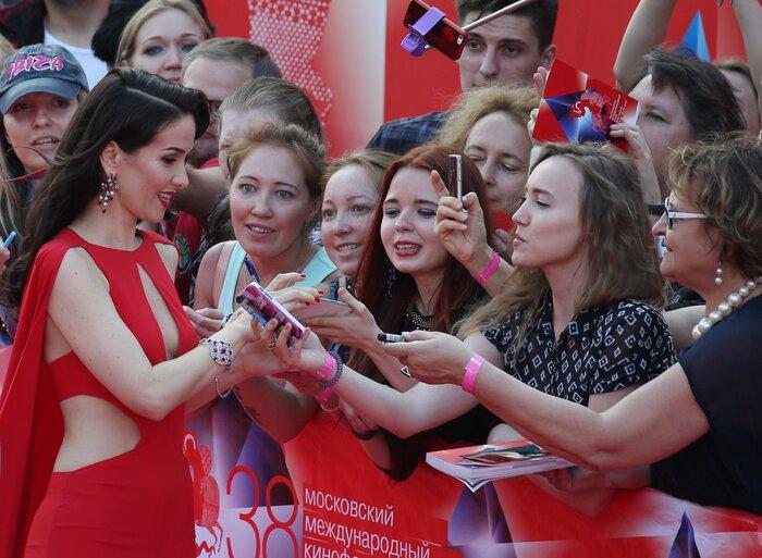 Фото: звёзды на церемонии закрытия Московского международного кинофестиваля-2016