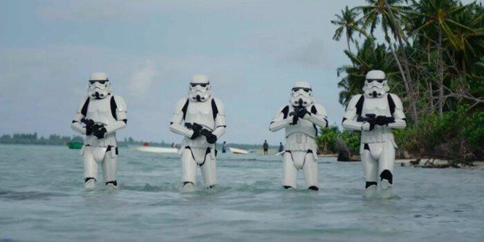 «Изгой-Один. Звёздные войны»: раскрыто первое видео со съёмок