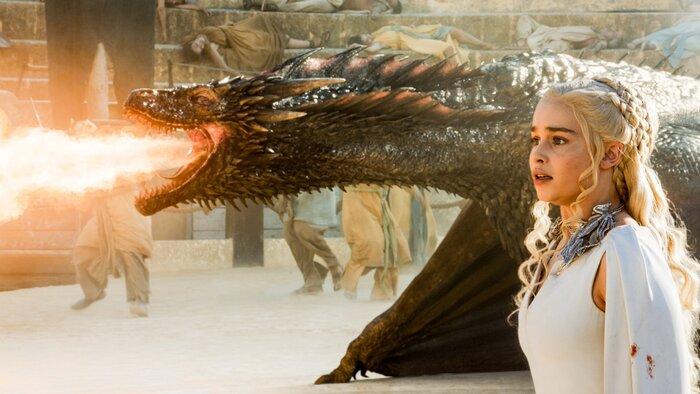 «Игра престолов»: впечатляющие визуальные эффекты сериала собрали в одном видео