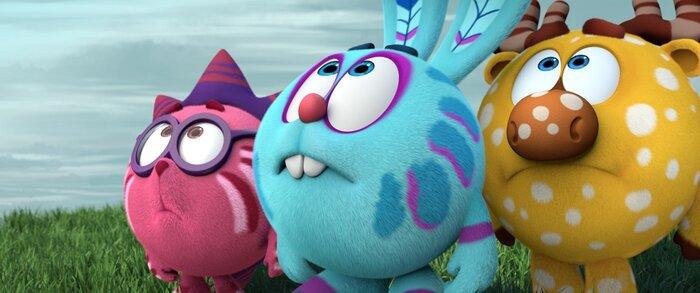 Мультфильм «Смешарики. Легенда о Золотом драконе» увидят зрители на разных континентах