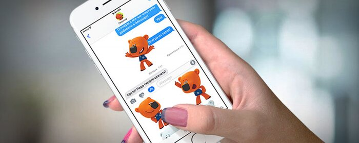 Стикеры с героями мультсериала «Ми-ми-мишки» стали доступны в iMessage