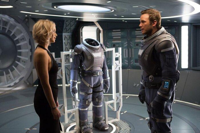Любовь в космосе: вышел первый трейлер фильма «Пассажиры» с Дженнифер Лоуренс и Крисом Прэттом