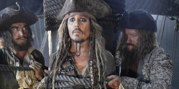 В Петербурге показали фрагмент новых «Пиратов Карибского моря»