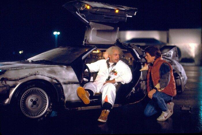 Поклонник трилогии «Назад в будущее» попытался совершить путешествие во времени