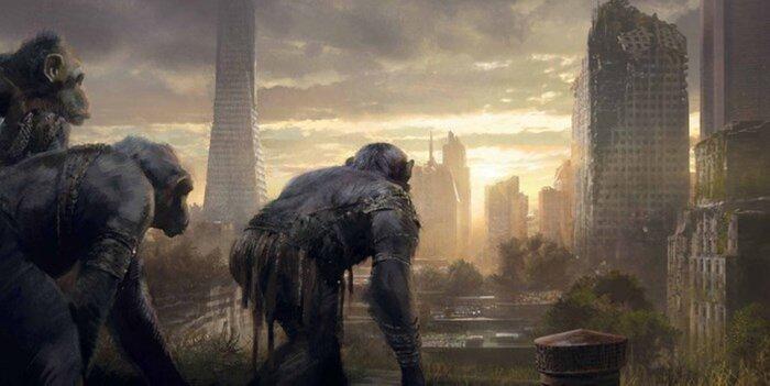 Мир в страхе: Разумные приматы против неразумных людей. Тизер «Войны планеты обезьян»