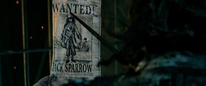 Разыскивается Джек Воробей: постер «Пиратов Карибского моря 5» предлагает солидную награду