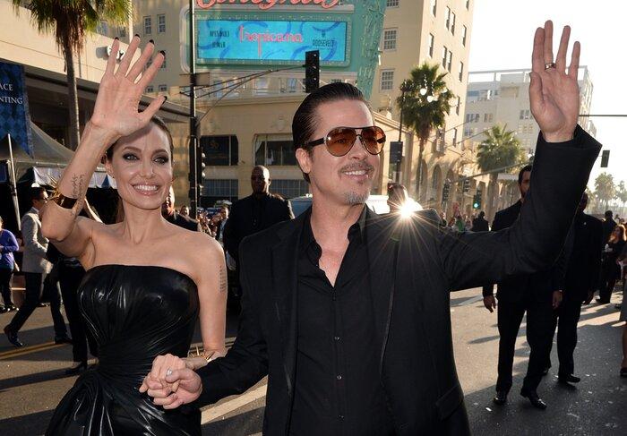 Анджелина Джоли дала показания против Брэда Питта