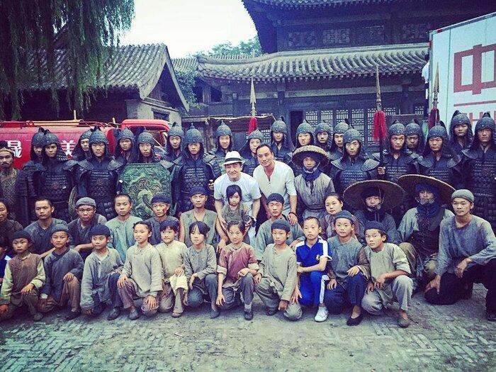 Как снимается фильм «Путешествие в Китай: Тайна железной маски» с Джеки Чаном - репортаж «Индустрии кино»