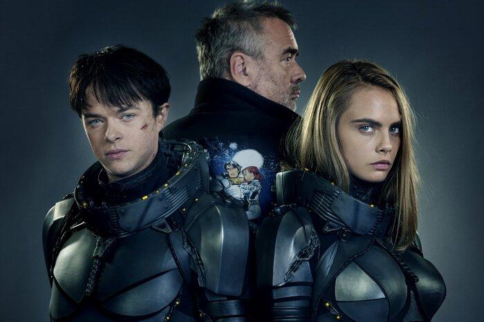 Премьера трейлера к новому фильму Люка Бессона «Валериан и город тысячи планет»