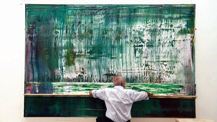 Телеканал 24_DOC представил в Москве выставку известного художника Герхарда Рихтера