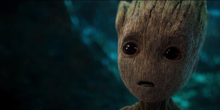 Больше сцен с милейшим малышом Грутом: выпущен новый трейлер «Стражей Галактики 2»