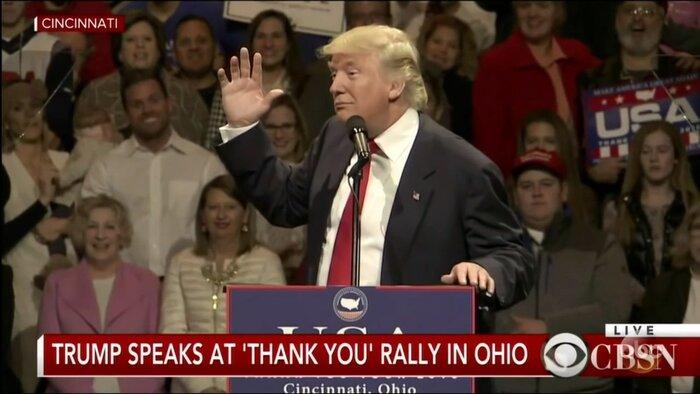 «Пьяный» Трамп удивил зрителей американского телешоу: видео