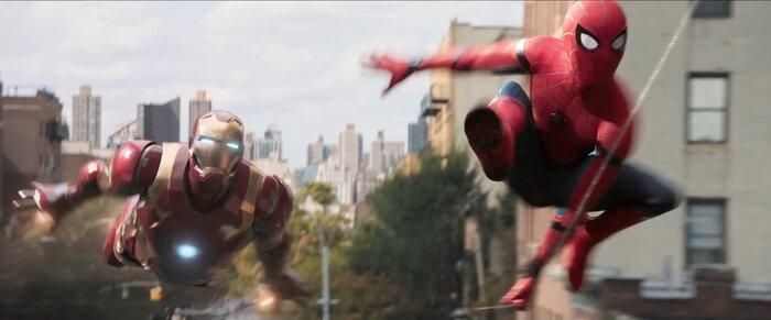 Тони Старк бьётся с монстром в первом трейлере фильма «Человек-паук. Возвращение домой»