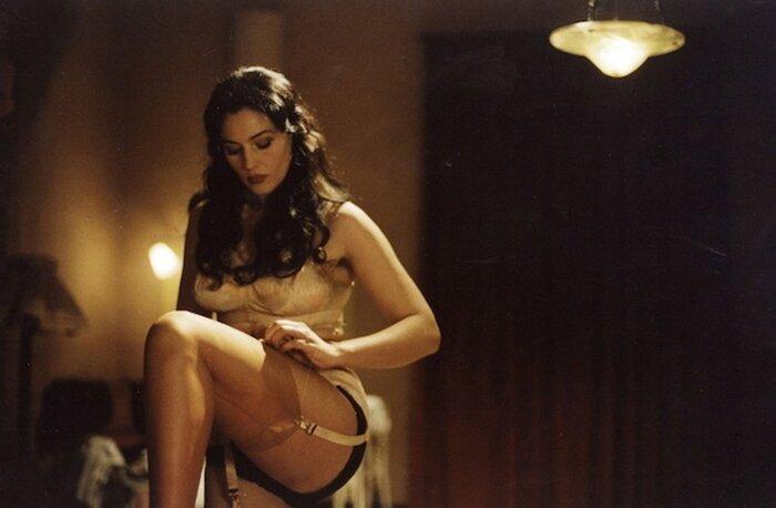 Моника Беллуччи впервые снялась обнажённой в сериале