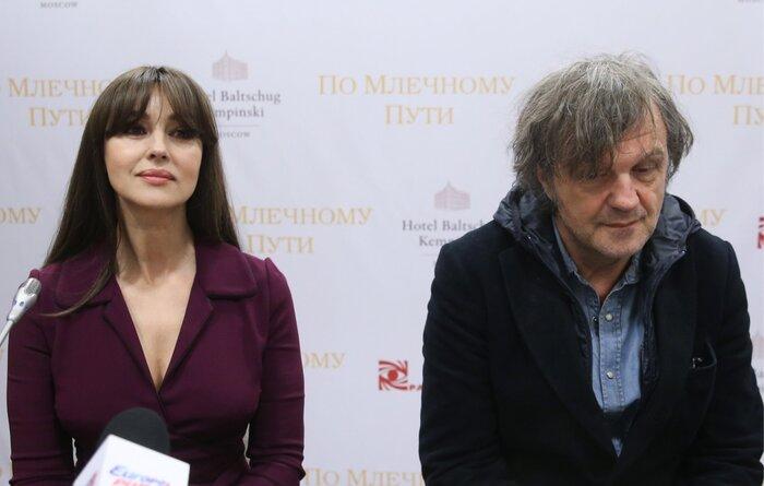 Моника Беллуччи прилетела в Москву. Фото