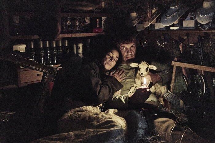 Моника Беллуччи и Эмир Кустурица позавтракали с московскими журналистами