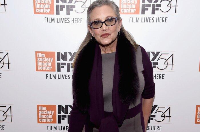 Мировые знаменитости поддержали перенёсшую инфаркт Кэрри Фишер
