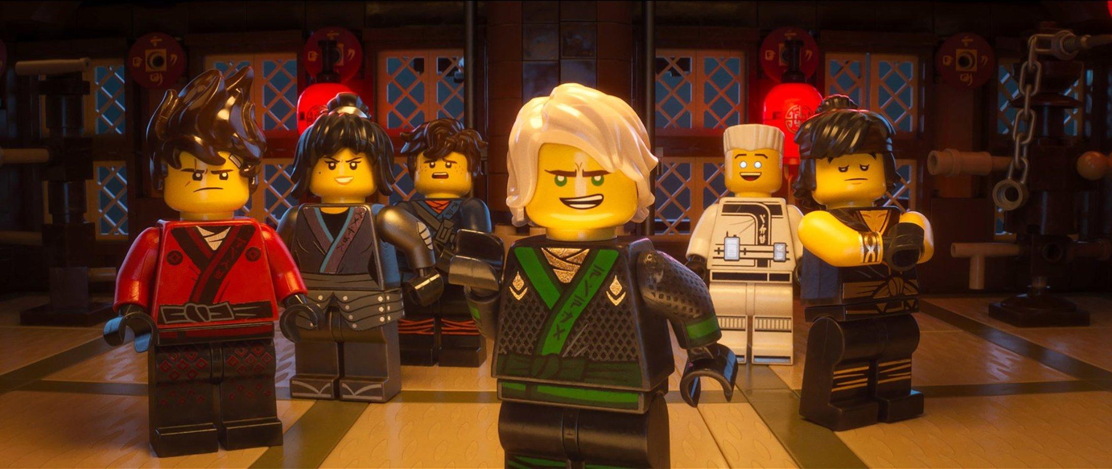 Лего фильм ниндзяго мультфильм 2018 полностью