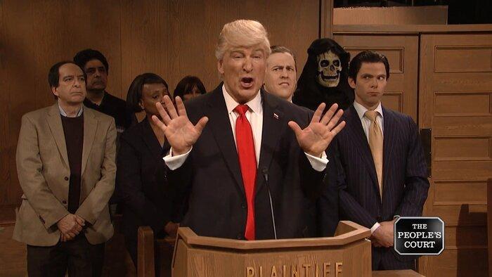 Новая пародия: Трамп пригласил «российского друга» в суд