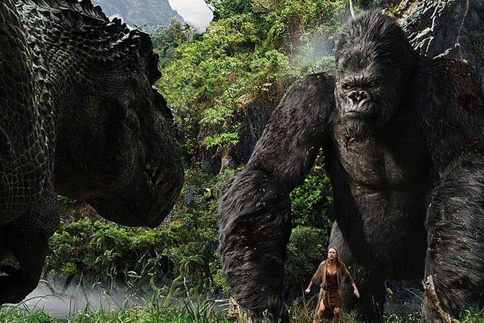 «Конг: Остров Черепа»: гигантская горилла против динозавра-мутанта в новом тизере