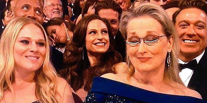 «Оскар»-2017: заснувшая на церемонии модель рассмешила зрителей