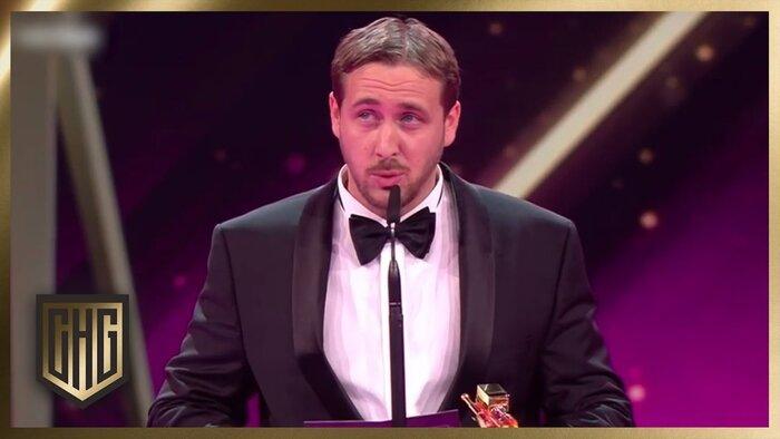 Двойник Райана Гослинга получил награду за «Ла-Ла Ленд». Видео