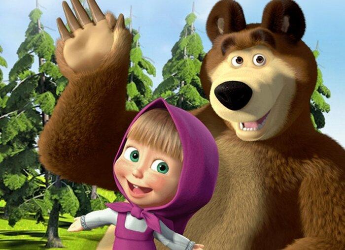 Россияне признали «Машу и медведя» самым любимым мультфильмом
