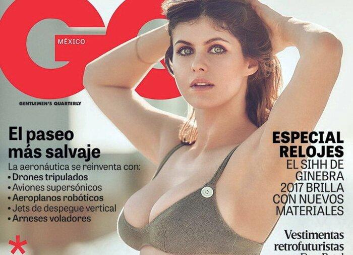 Фото дня: Звезда новых «Спасателей Малибу» Александра Даддарио разделась для журнала GQ
