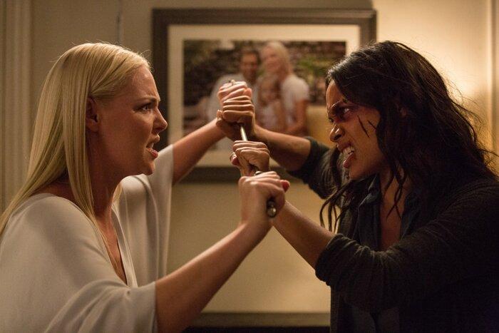 Розарио Доусон и Кэтрин Хайгл представили «Индустрии кино» триллер «Наваждение»
