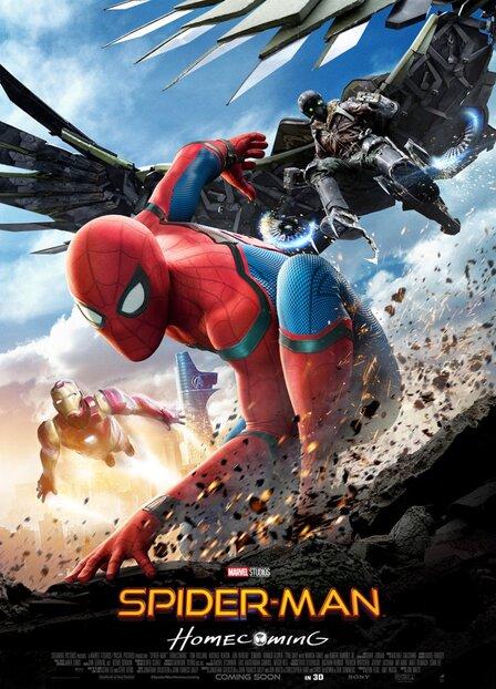 Фильм Человек паук: Возвращение домой смотреть онлайн на андроид