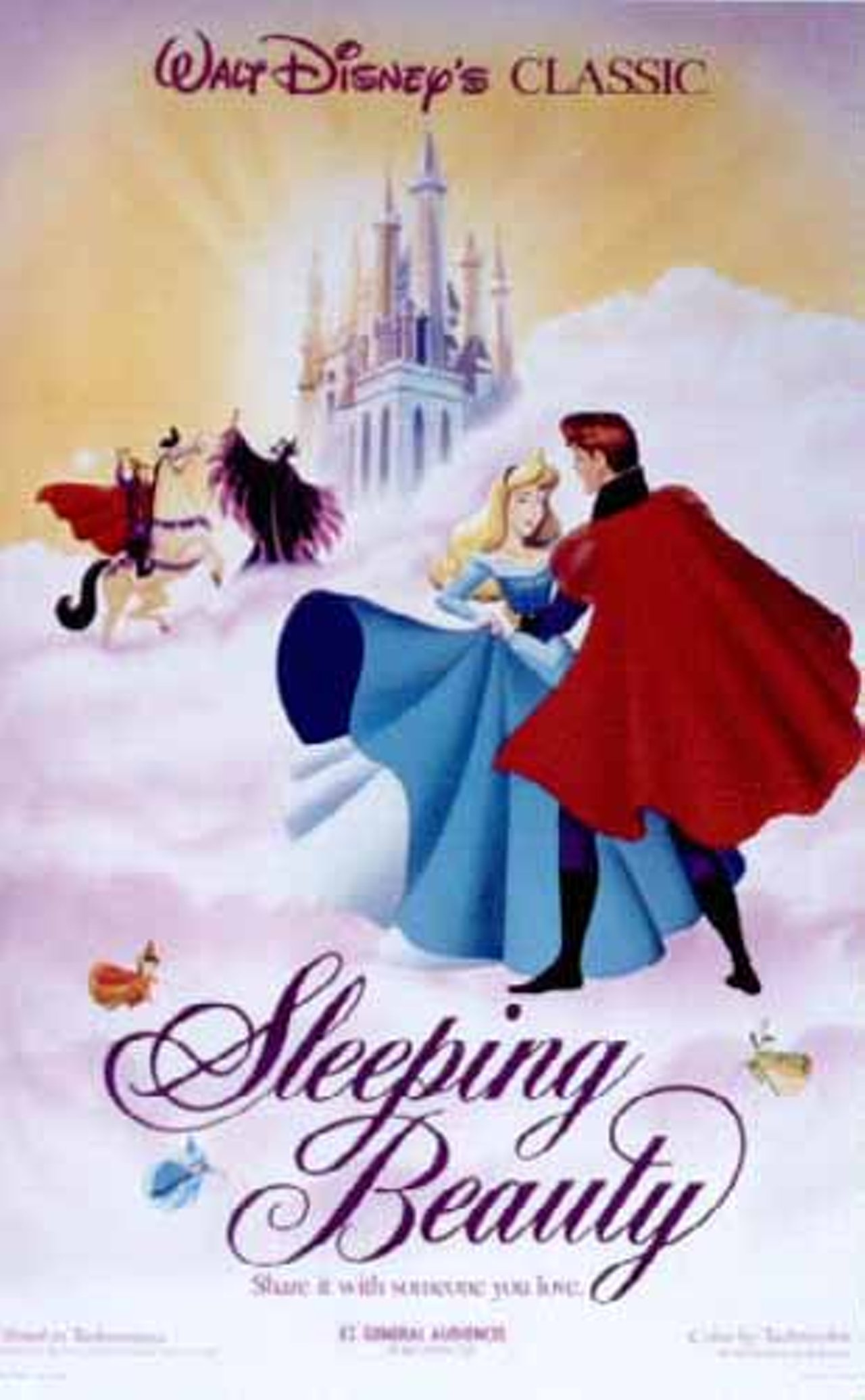 смотреть в хорошем качестве спящая красавица мультик