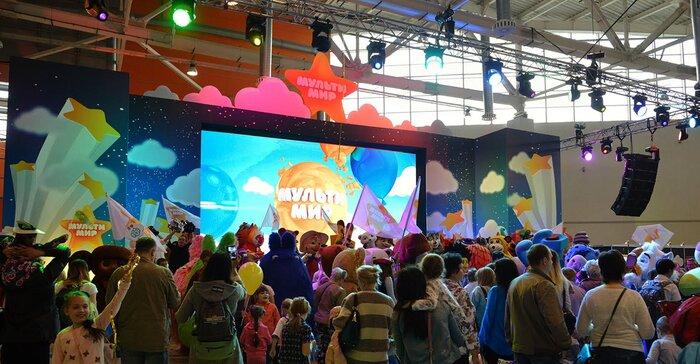 Гостям понравился второй семейный фестиваль «Мультимир»