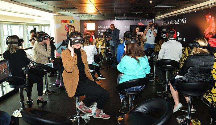 Гостям ММКФ презентован первый виртуальный кинотеатр «МУЛЬТ VR»