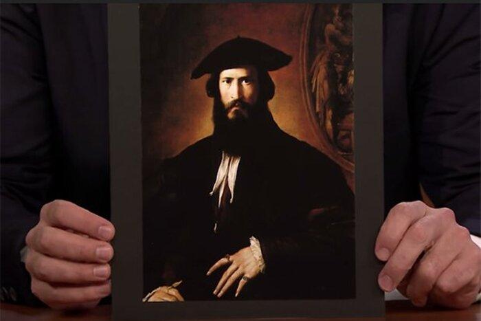 Киану Ривза рассмешил его двойник из XVI века. Видео