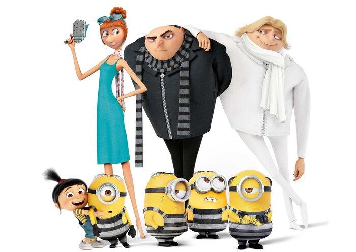 Что посмотреть в кино с детьми на уикенде с 7 по 9 июля