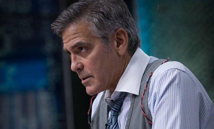 Джордж Клуни встретился с космонавтом - кумиром своего детства. Видео