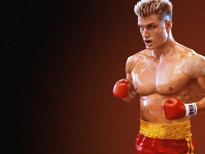 Дольф Лундгрен снова играет советского боксёра из «Рокки». Видео