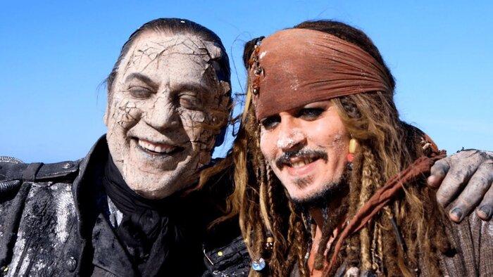 «Пираты Карибского моря 5»: самые смешные неудачные дубли. Видео