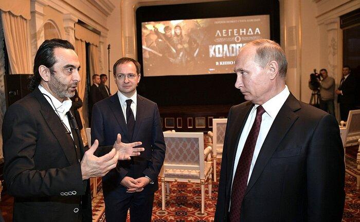 Владимир Путин оценил «Легенду о Коловрате»